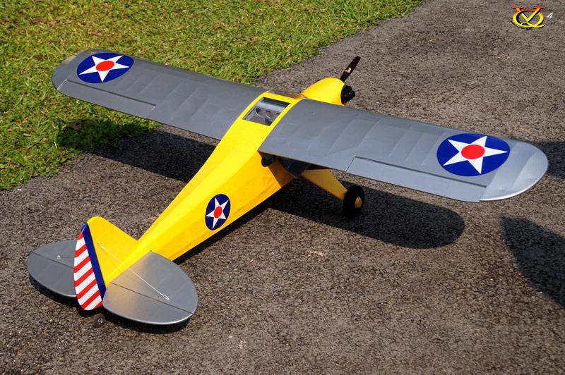Piper J 3 Cub 46 Size Ep Gp Vinh Quang Rc Models